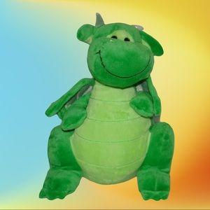 "Animal Alley Green Dragon 10"" Plush Toys R Us"